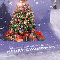 Christmas Photoshop Greeting Card
