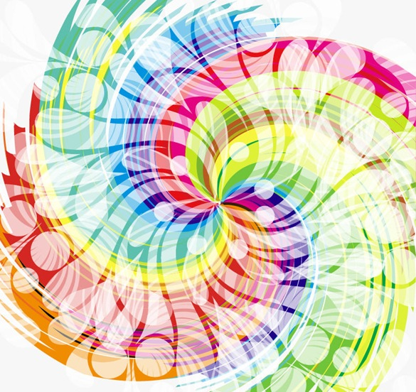 Colorful Swirl Designs