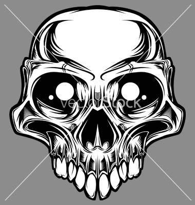 Custom Skulls Drawings