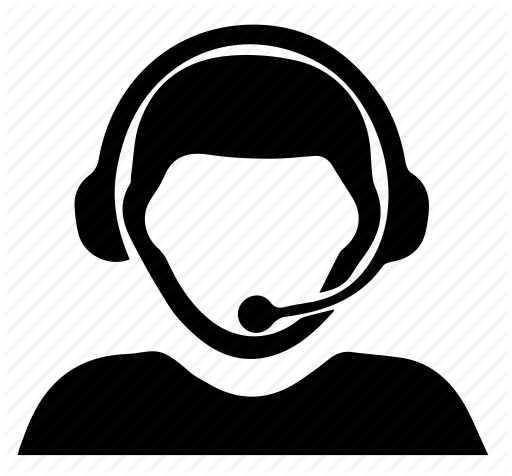 Customer On Phone Icon
