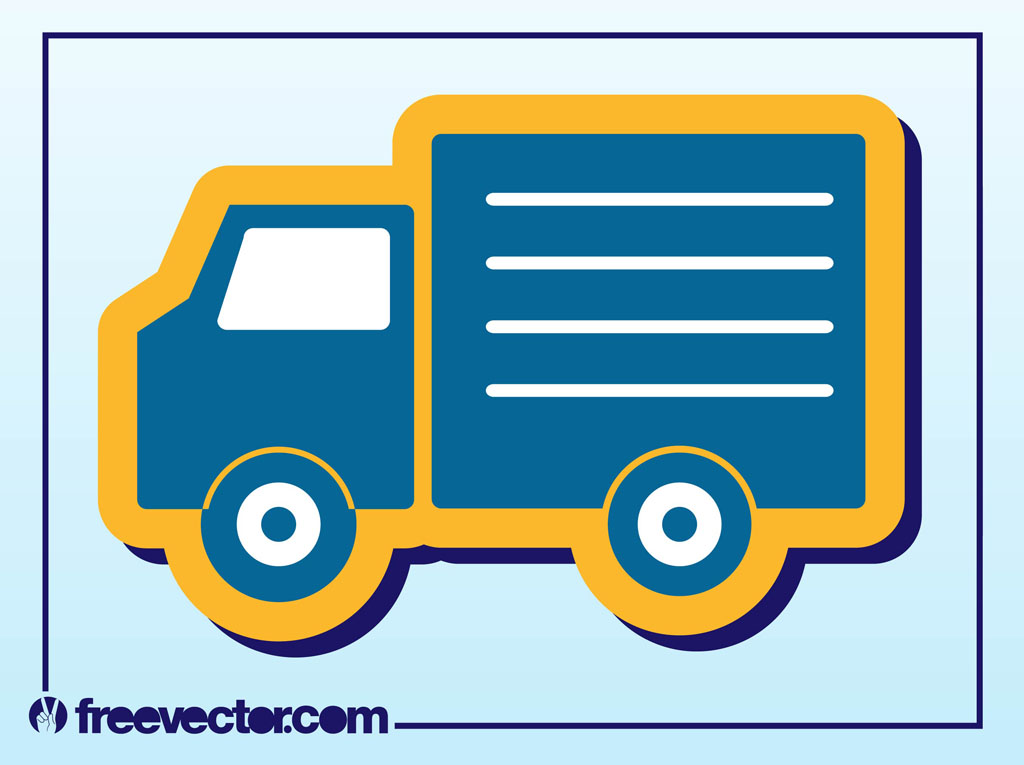 delivery truck icon vector - photo #15