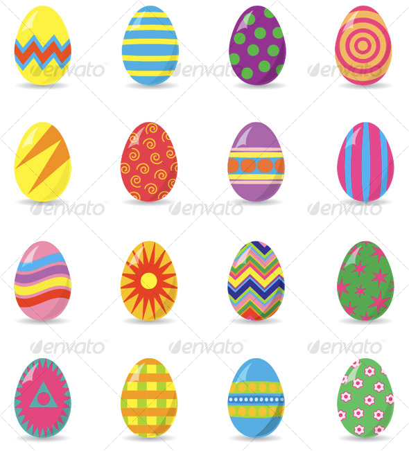 11 Easy Easter Egg Designs Images
