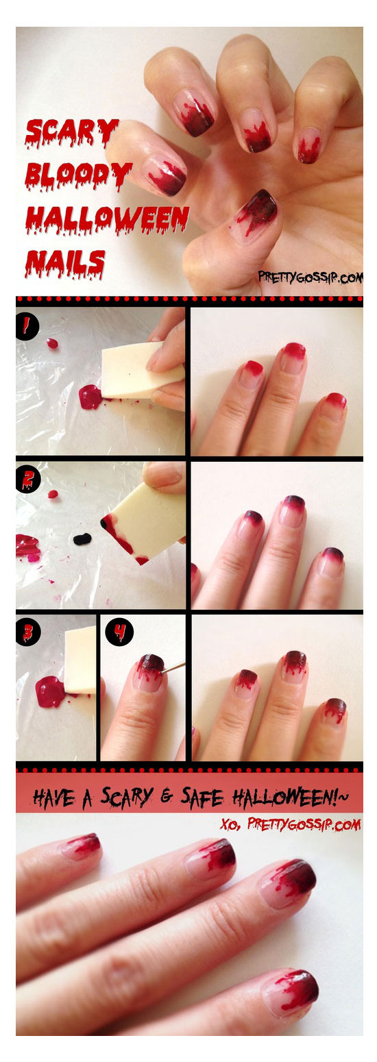 Simple Nails Art Tutorial | Splendid Wedding Company