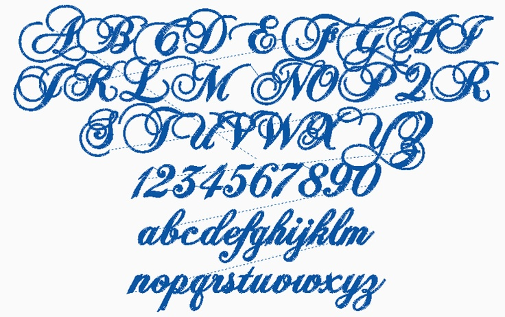 Fancy Old English Calligraphy Font