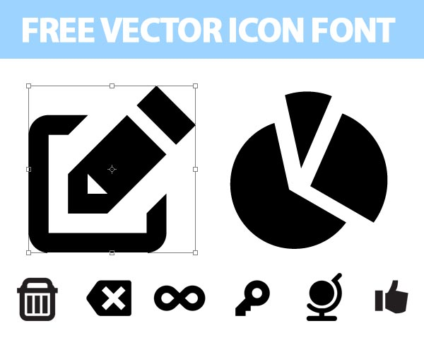 Font Awesome Icons Vector