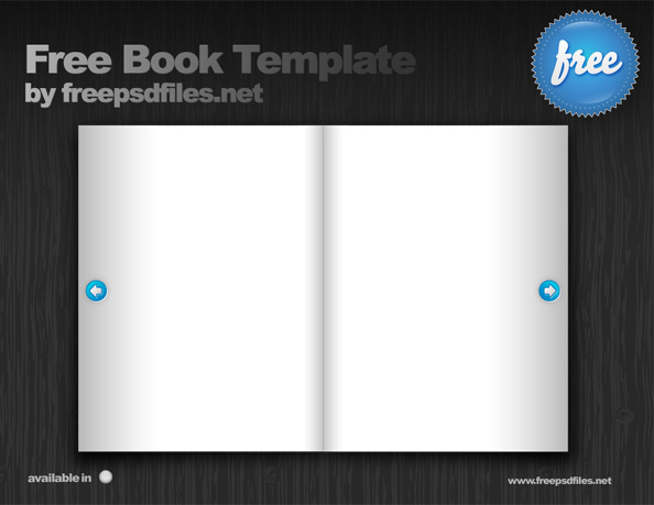 Free Book Template