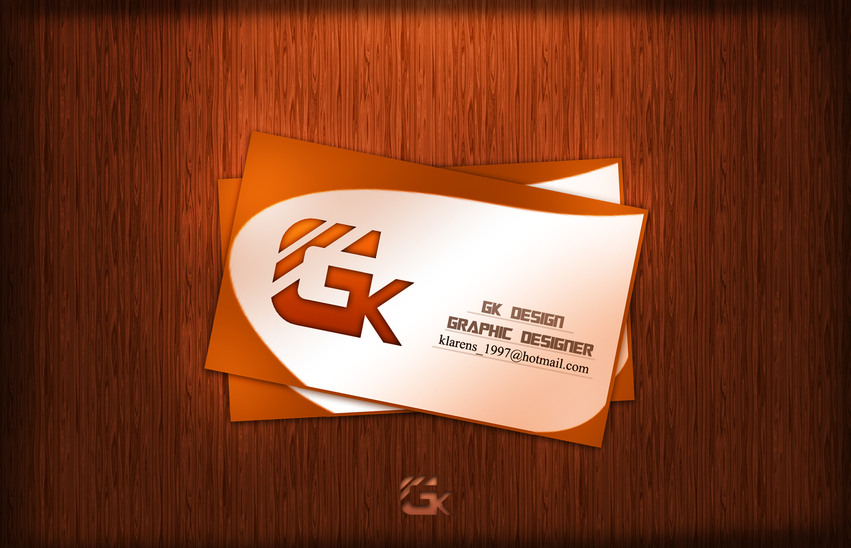 Free Business Card Design PSD