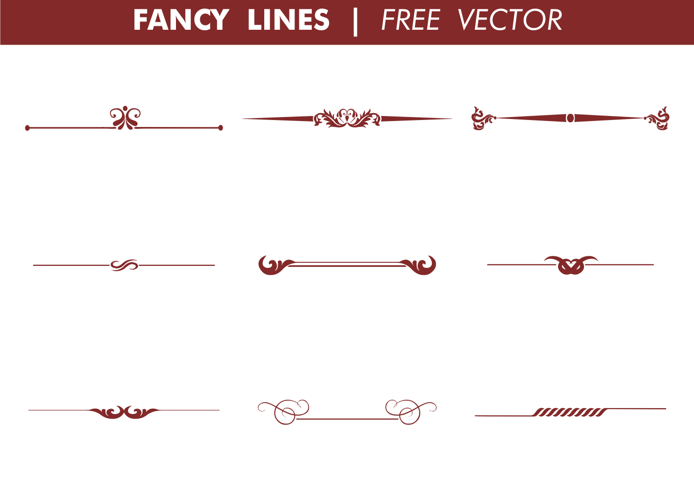 Line Drawing Vector Free : Decorative lines vector images line clip