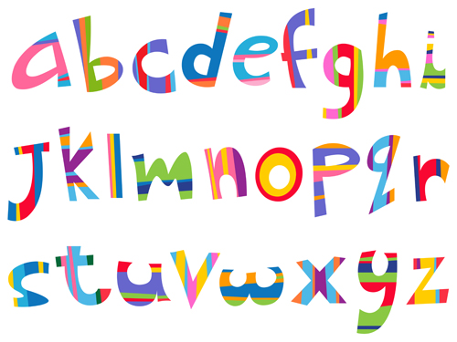 14 Free Vector Alphabet Fonts Images