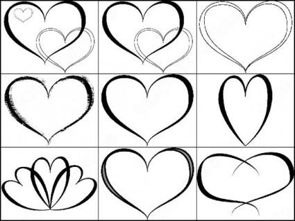Photoshop heart download shape