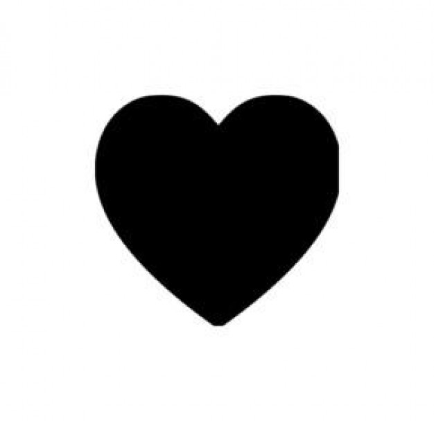 Free Heart Silhouette