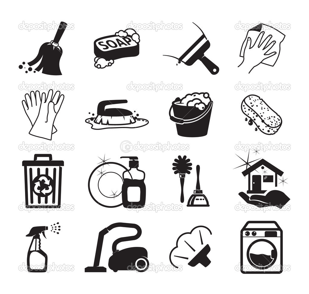 Free Icon Vector Art House Cleaning Images