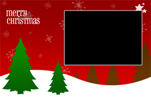 Free Photoshop Christmas Card Templates