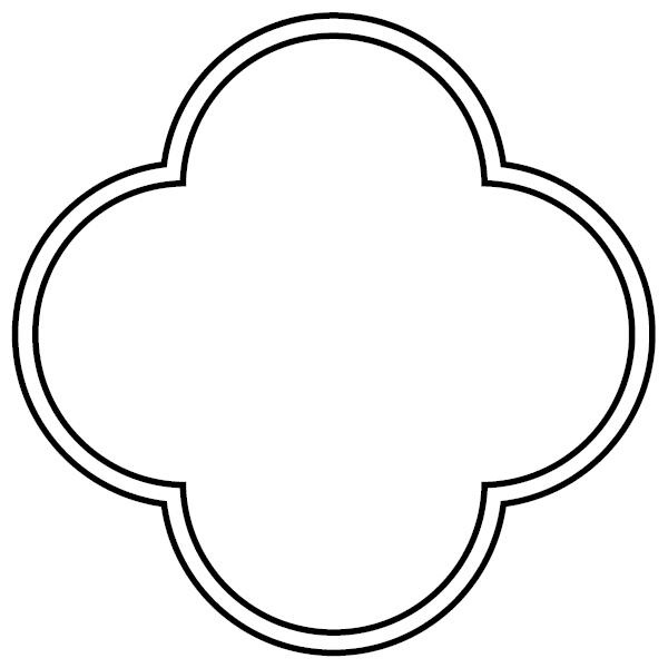 12 Quatrefoil Vector Object Images