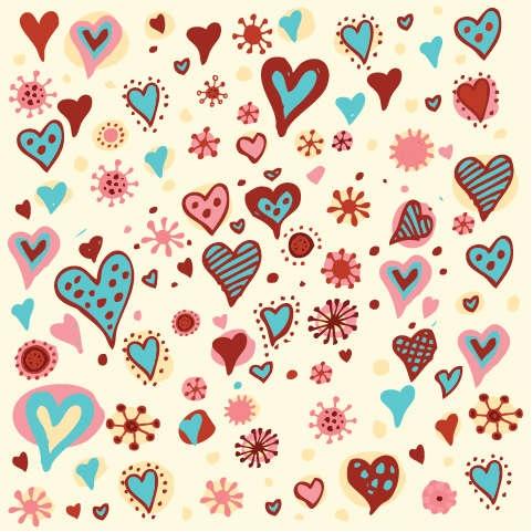 Free Valentine Heart Pattern
