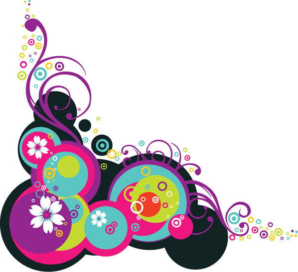 12 Flower Vector Graphics PNG Images