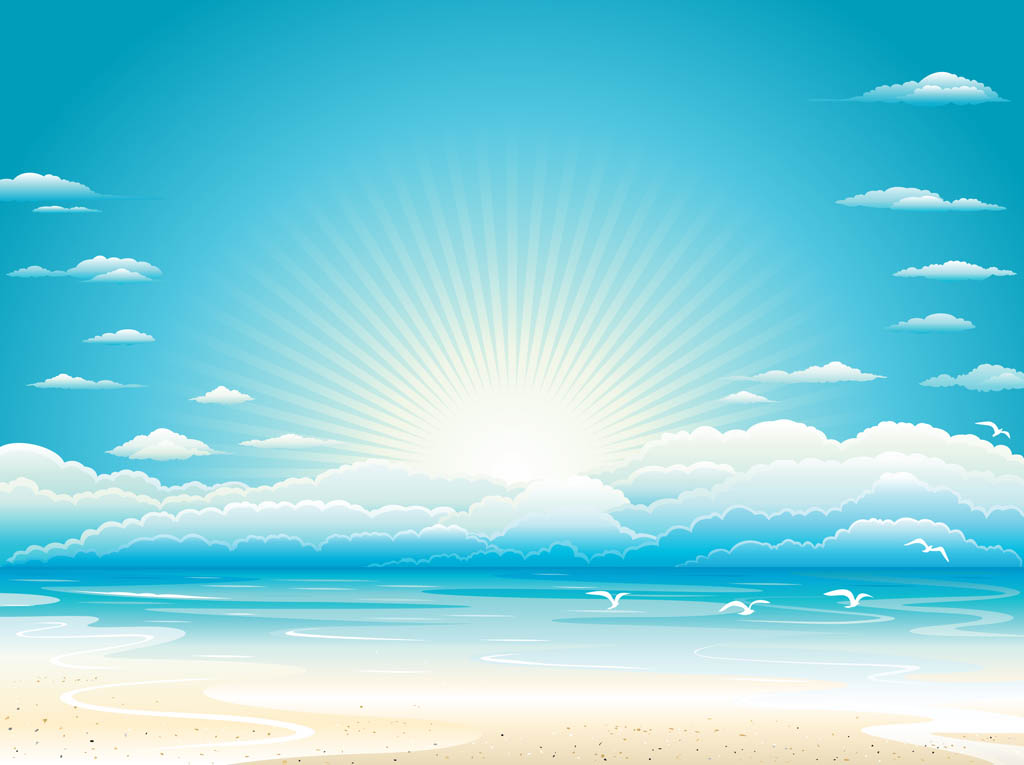 14 Free Beach Vector Art Images