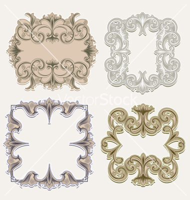 Free Victorian Vector Frame