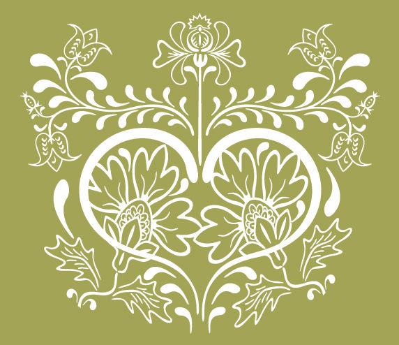Free Vintage Floral Graphic Design