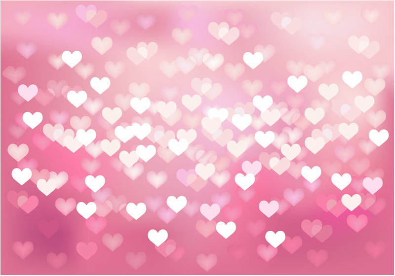 Free Wedding Hearts Background