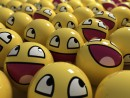 Funny Happy Smiley Face