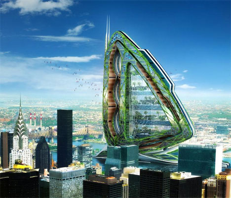 Future Concept Buildings