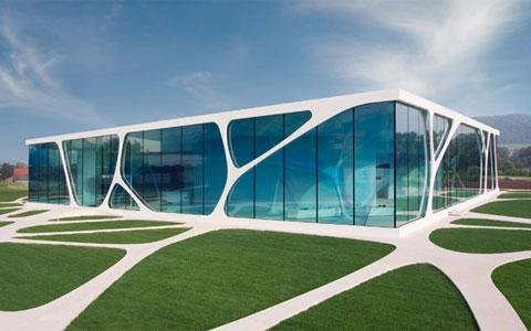 Glass Cube Architecture