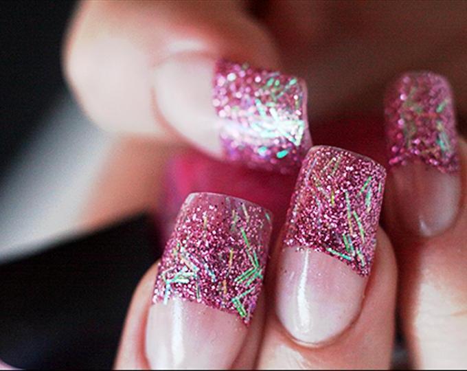 Glitter Acrylic Nail Designs Tumblr