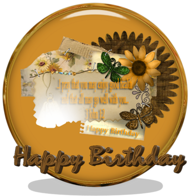 Happy Birthday PSD Template