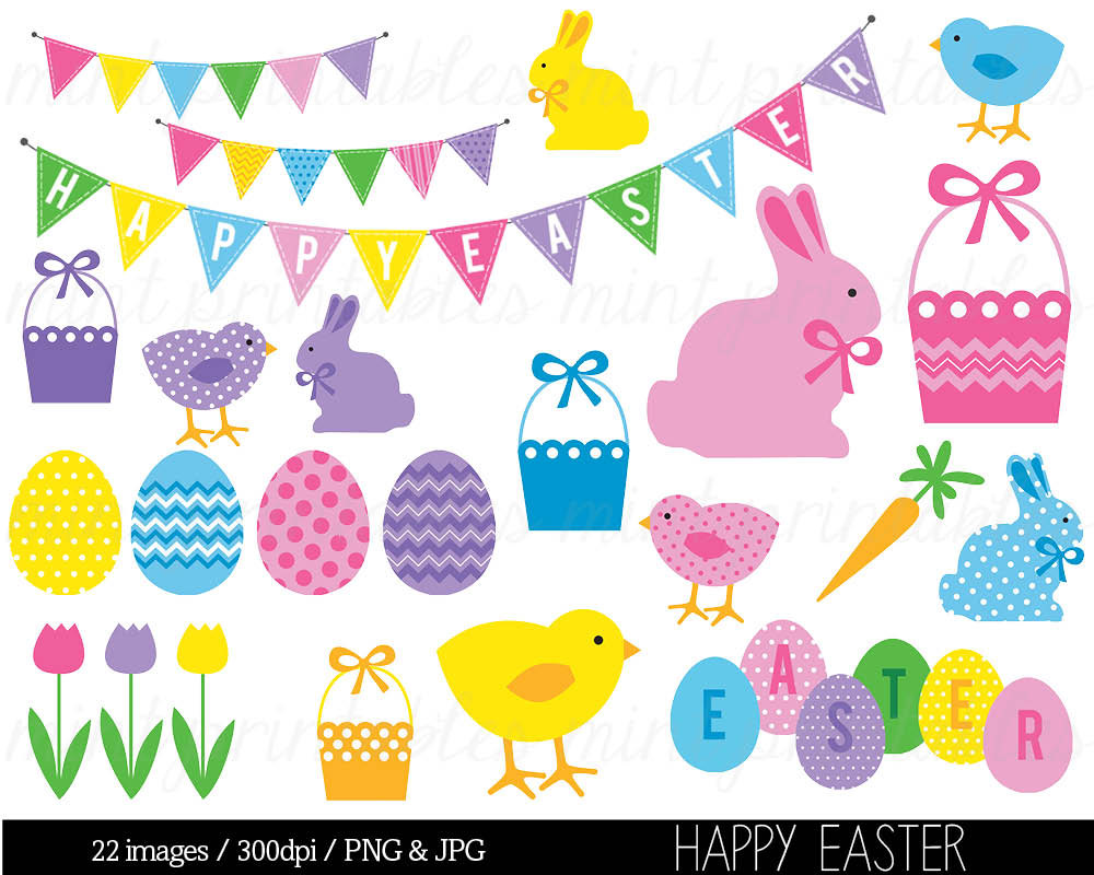 9 Easter Graphic Religiou Clip Art Images