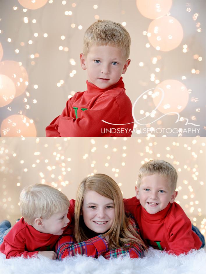 Happy Christmas Holiday Backdrop Idea