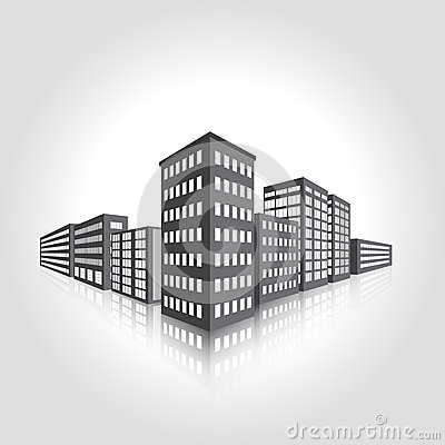 Icon Office Building Map