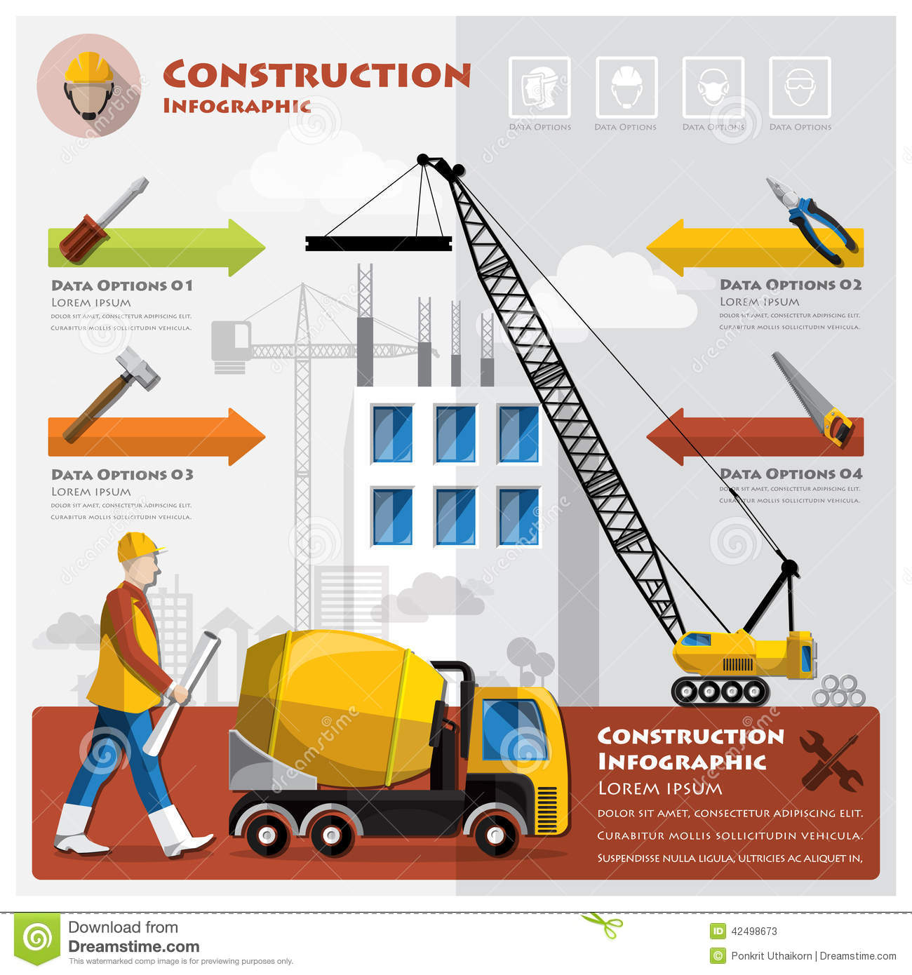 Infographic Design and Construction