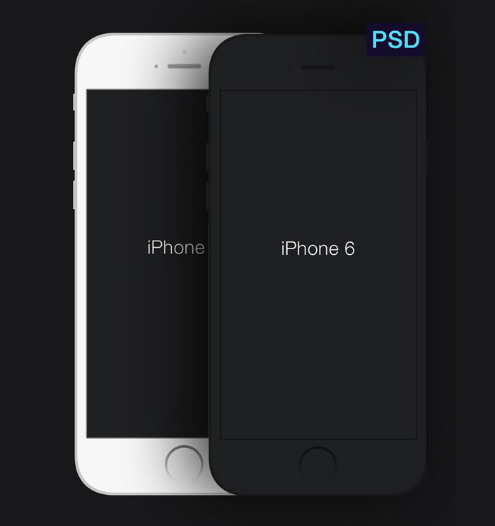 9 IPhone 6 Mock Up Template PSD Images