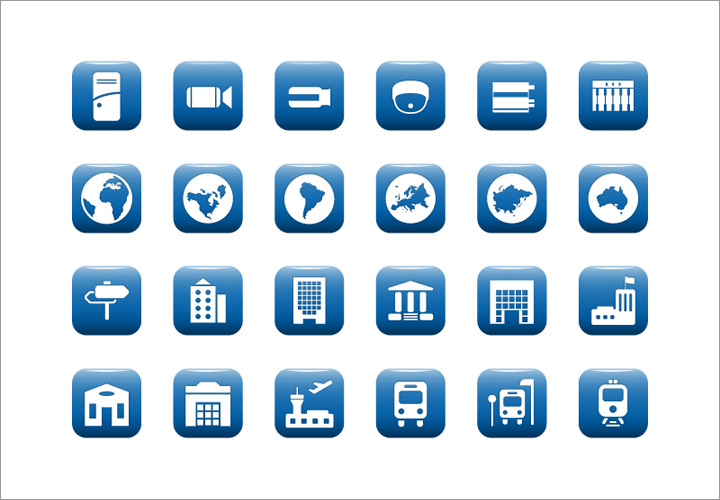 IT System Communication Icon