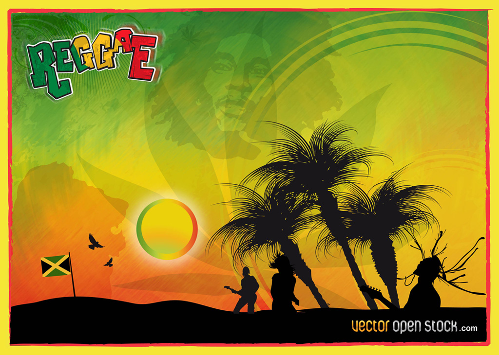 13 Rasta Vector Graphics Images