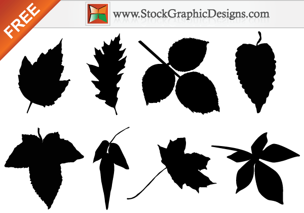 Leaf Silhouette Clip Art Free