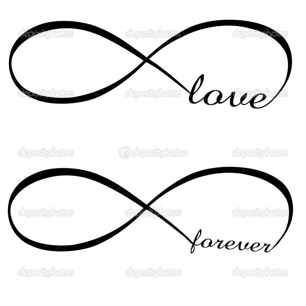 10 Infinity Symbol Vector Images - Black Infinity Symbol ...