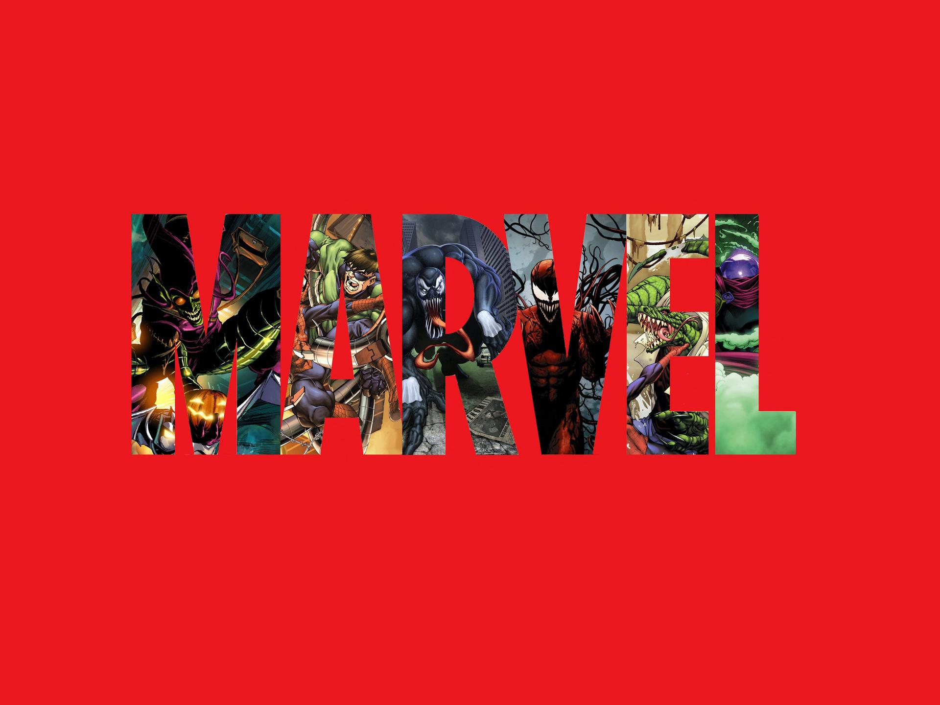Marvel Comics Characters Logo