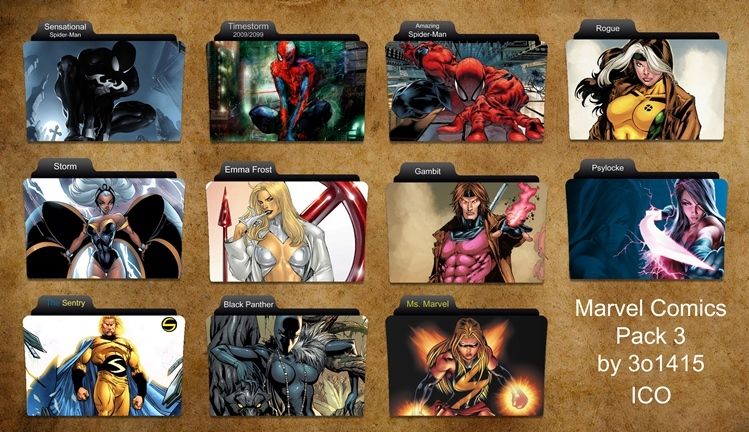 16 Marvel Free Windows Icons Collections Images