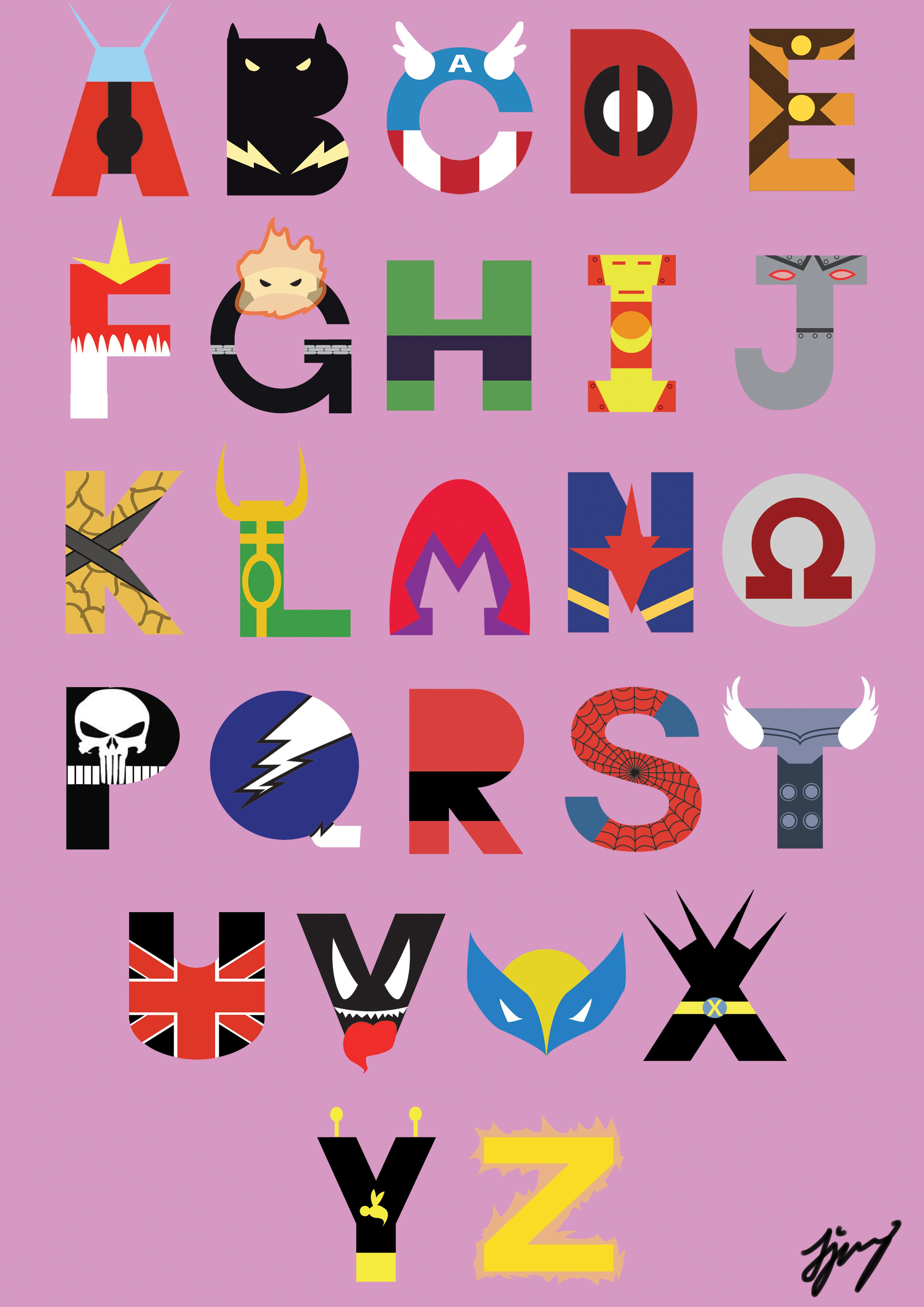 Marvel Super Hero Font