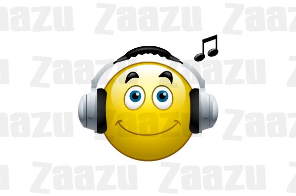 Music Smiley Emoticon