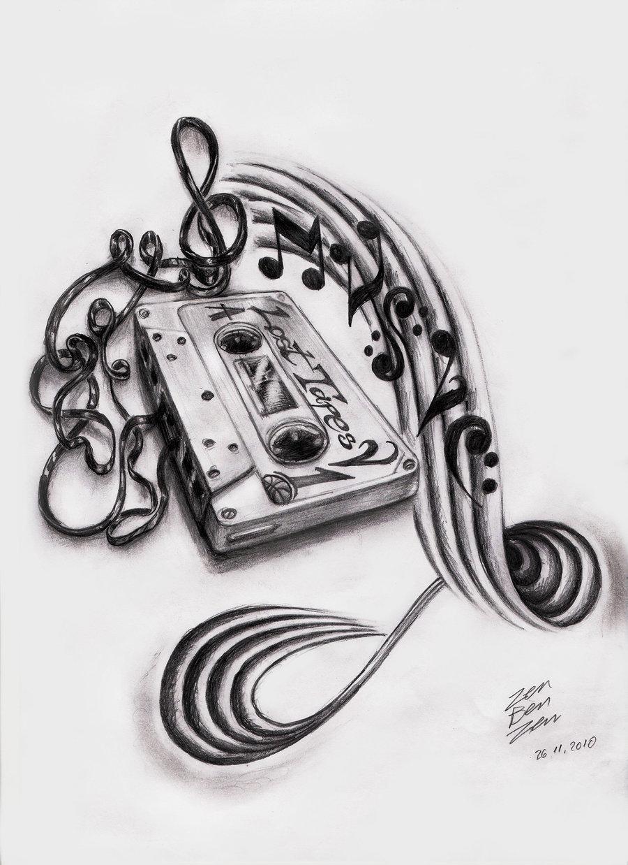 19 Music Art Design Images Music Sleeve Tattoo Design Drawings
