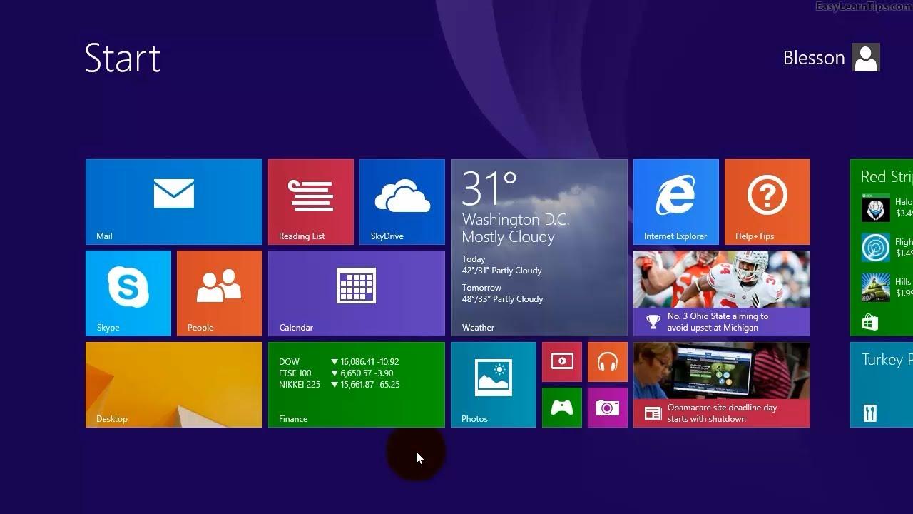 My Computer Icon On Desktop Windows 8