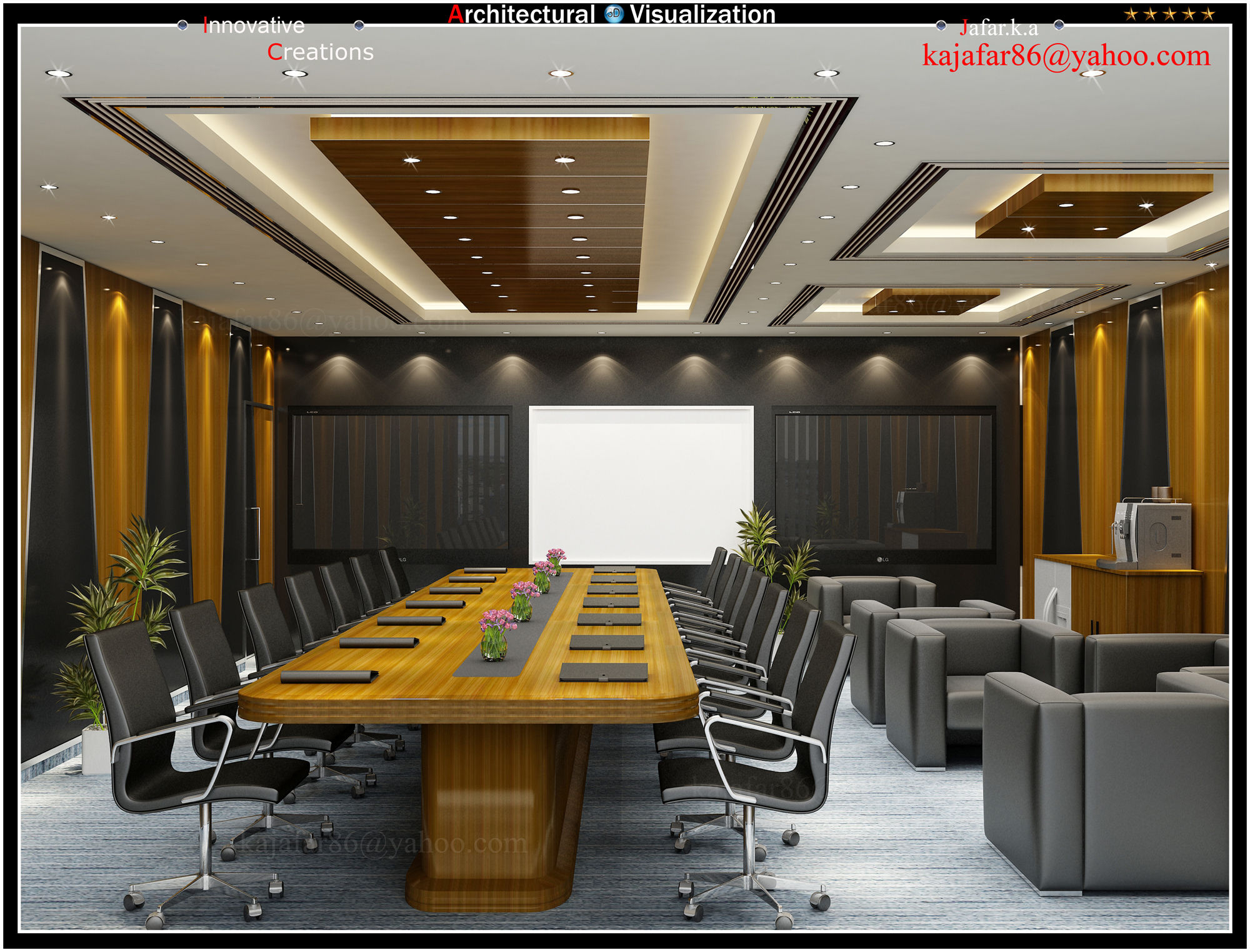 13 large conference room designs images office for Office design 3d