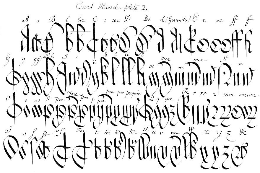 12 1776 old english calligraphy font images old english tattoo old english handwriting alphabet thecheapjerseys Image collections