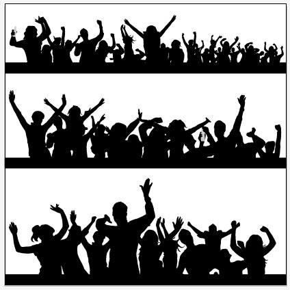14 Party People Vector PNG Images