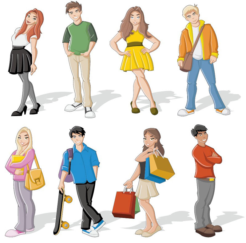 Person Cartoon Characters