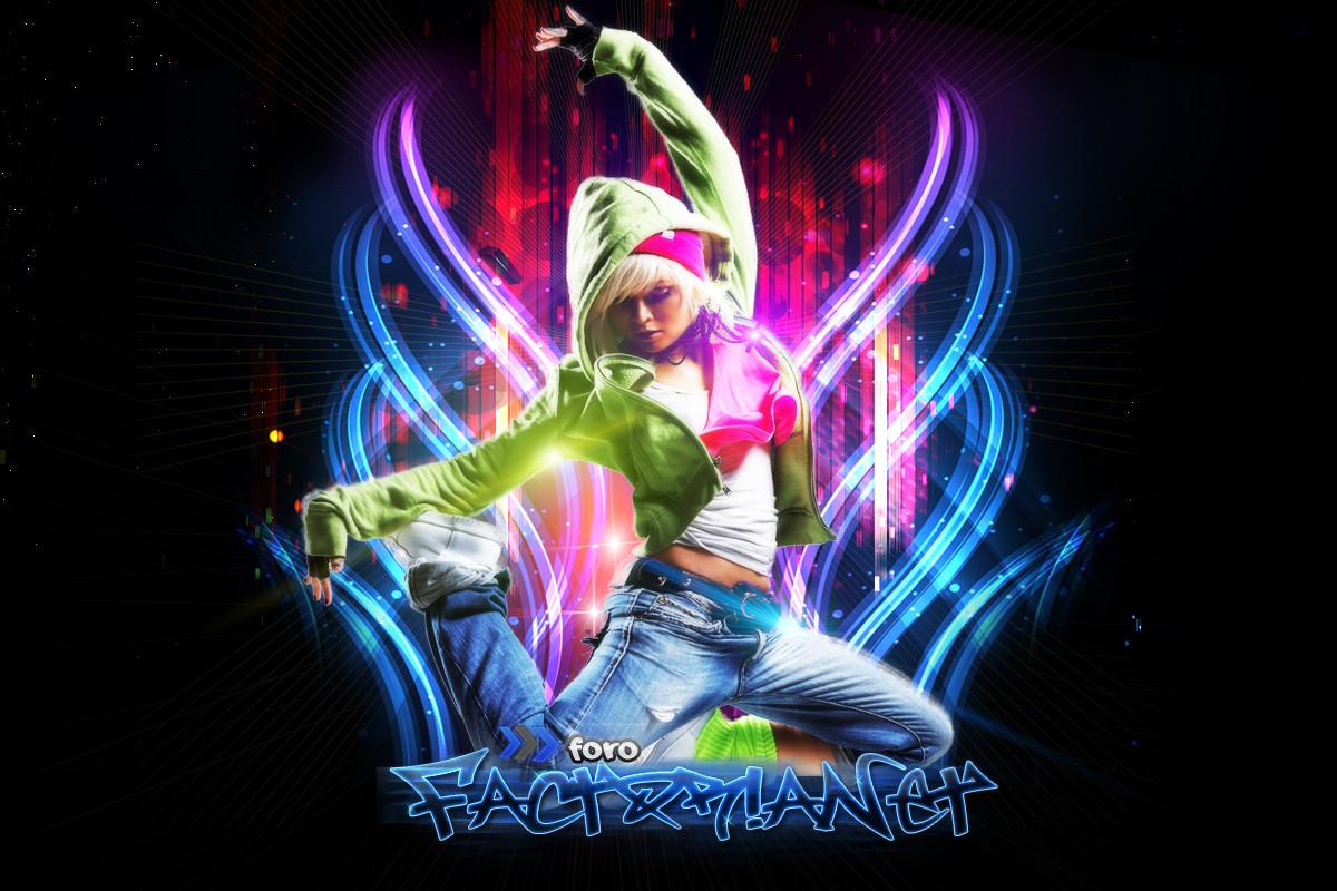 PSD Dance Girl