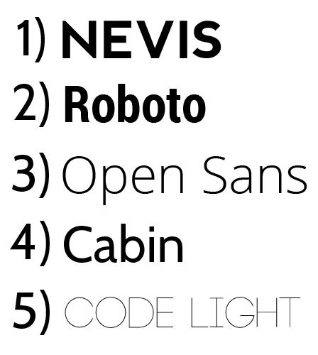 8 Free Sans Serif Fonts Images
